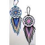 Hand Beaded Dream Catchers